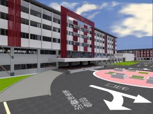 醫療大樓及第九病房耐震補強及整修工程