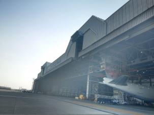 中華航空二機棚維護工程